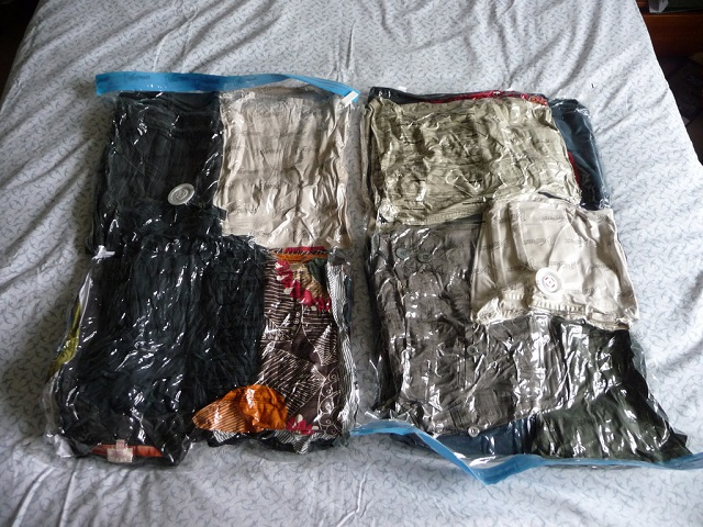 Travel Vacuum Bags